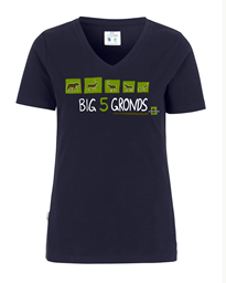 Bild von Val Müstair Big Five T-shirt Damen